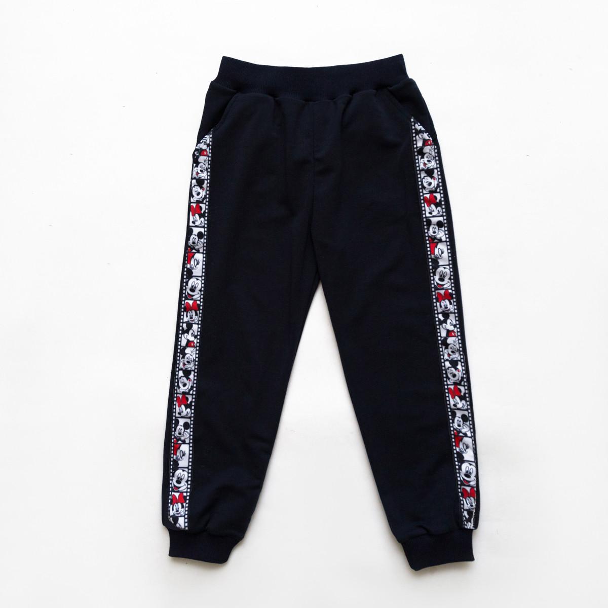 Детские спортивные штаны Микки SmileTime Mickey Cinema, синий
