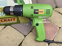 Дрель-шуруповерт электрический Proсraft PB800