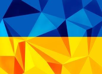 """Вафельна картинка  """"Українська абстракція"""""""
