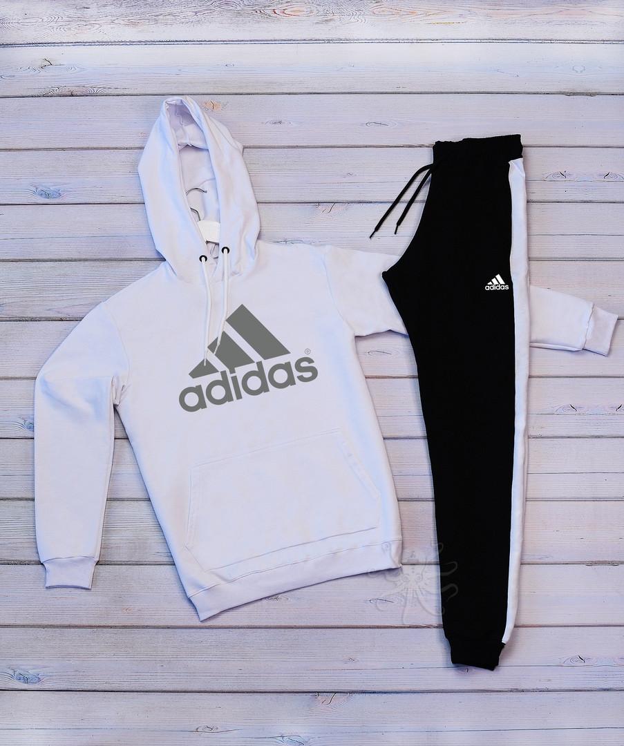 Adidas( адидас) Мужской белый спортивный костюм . Осень 2020