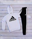 Adidas( адидас) Мужской белый спортивный костюм . Осень 2020, фото 2