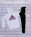 Adidas( адидас) Мужской белый спортивный костюм . Осень 2020, фото 3