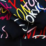 Лосины трикотажные для девочки SmileTime Cool Letters, темно-синий, фото 3