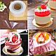 Ацетатная уплотненная лента для торта высотой 12 см упаковка 100 метров 0,83 мкм ОПТ, фото 5
