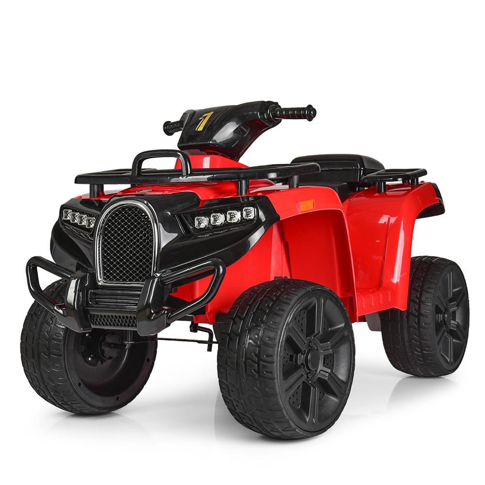 Дитячий квадроцикл ZP 5138 E-3, mp3, USB, колеса EVA, червоний