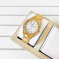 Женские наручные часы Bee Sister 1258 Gold-White Diamonds