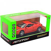 Машинка игровая автопром Ferrari 458 Красный (3201C), фото 2