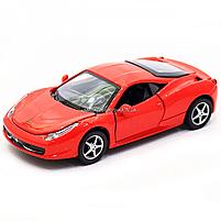 Машинка ігрова автопром Ferrari 458 Червоний (3201C), фото 4