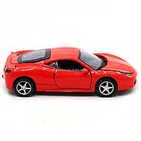 Машинка ігрова автопром Ferrari 458 Червоний (3201C), фото 5