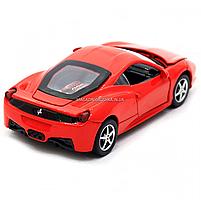 Машинка игровая автопром Ferrari 458 Красный (3201C), фото 6