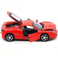 Машинка игровая автопром Ferrari 458 Красный (3201C), фото 9