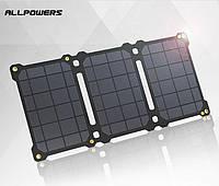 Ультратонкая водонипроницаемая солнечная батарея солнечное зарядное устройство ALLPOWERS (обновленная модель)
