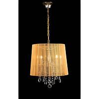 Люстра абажурная подвесная для спальни гостинной зала Splendid-Ray 30-2437-74