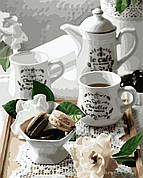 Картина по номерам Идейка Кофе с макарунами 40*50 см арт.KH5588