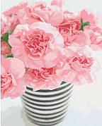 Картина по номерам Идейка Розовое чудо 40*50 см арт.KHO3007