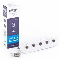 """Лампа 24V  (цок.BA 9s) T4W """"Brevia"""" (24319C)   (уп.10шт) (200 шт/ящ)"""