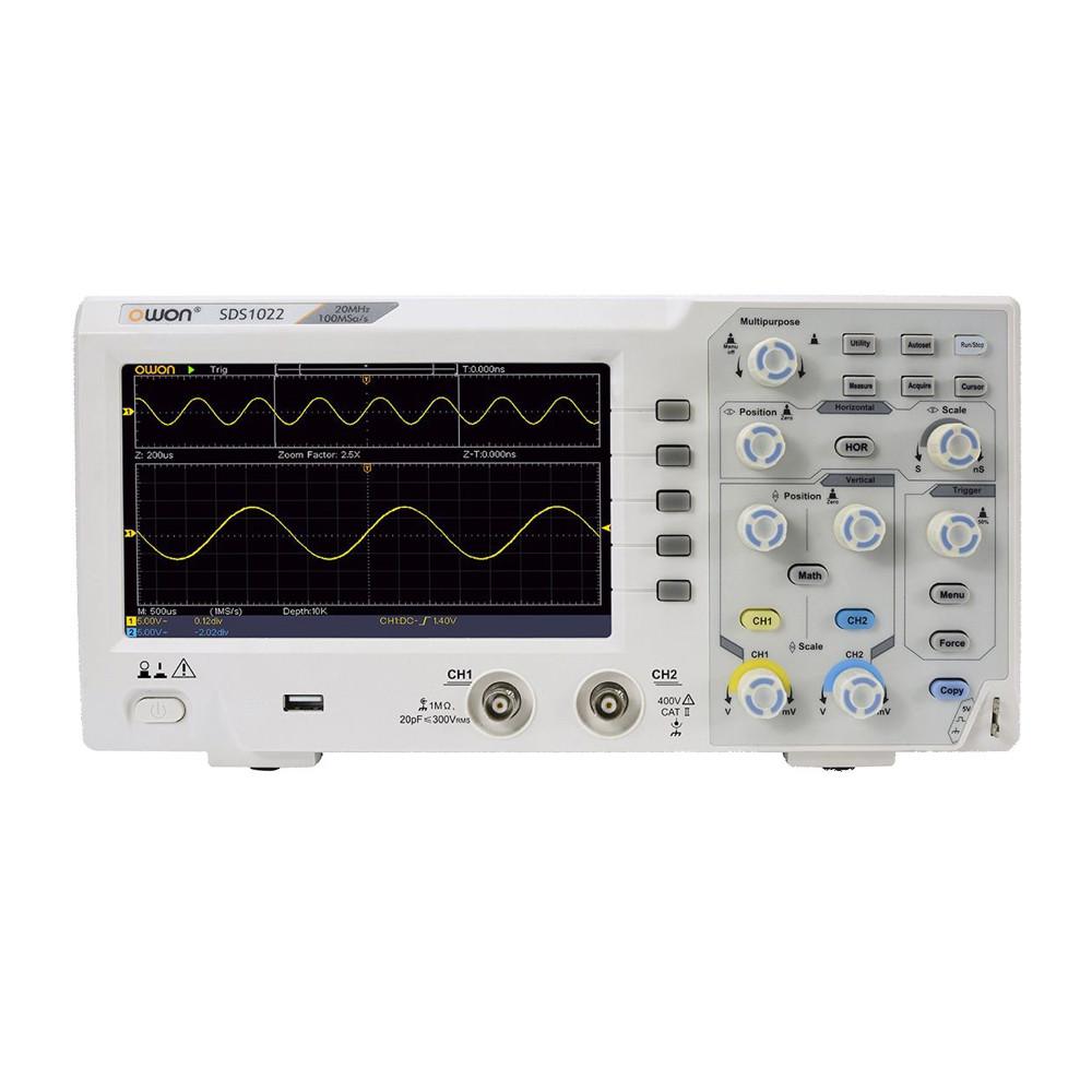 Осциллограф цифровой двухканальный OWON SDS1022