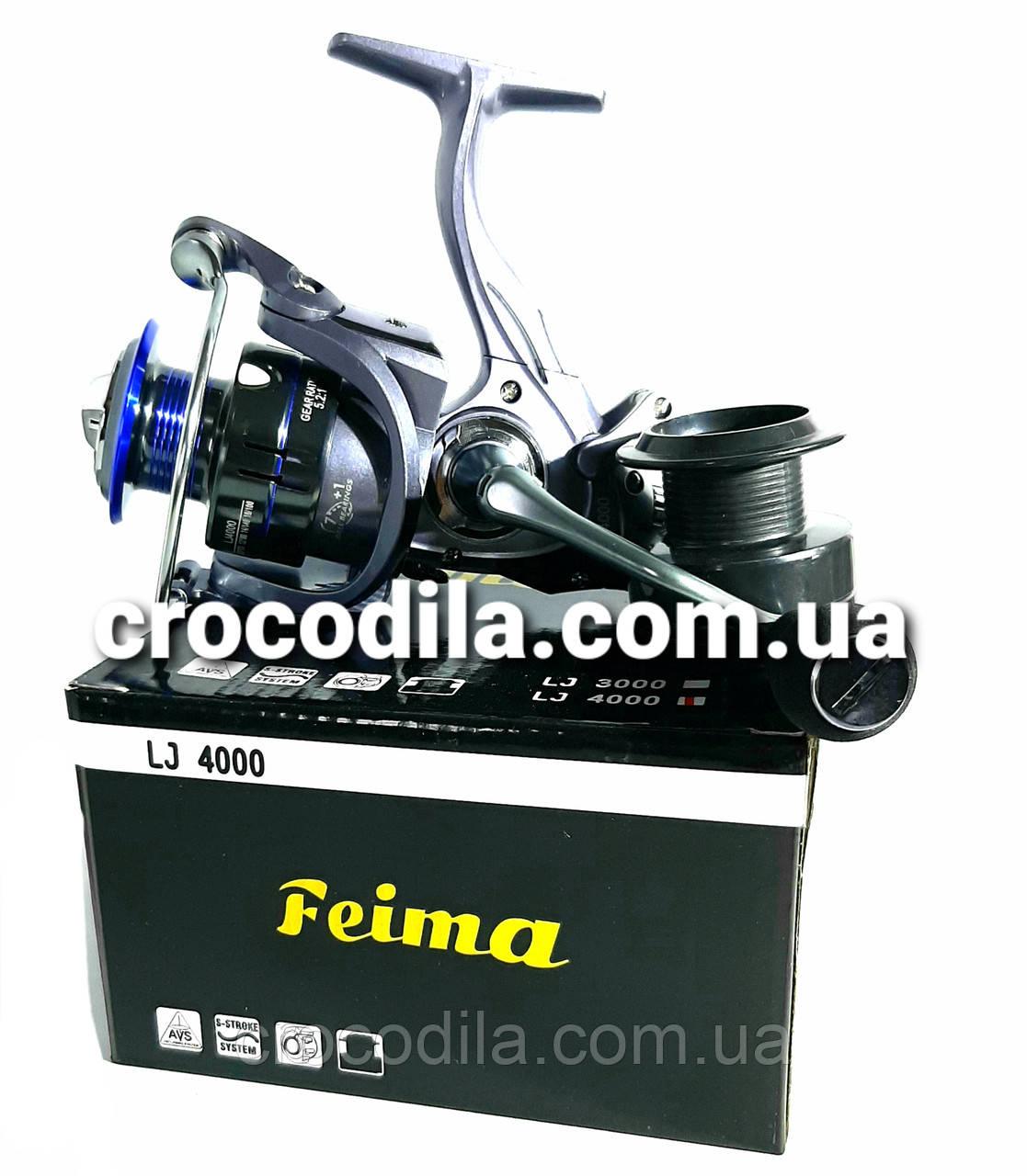 Карповая катушка с бейтранером Feima LJ 5000