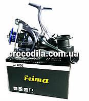 Карповая катушка с бейтранером Feima LJ 5000, фото 1