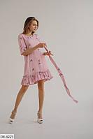 Женское платье штапель летнее 50-52, 54-56 р. Турция батал / большие размеры