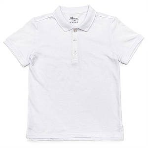 Поло для мальчиков Deloras 140  белое 981101