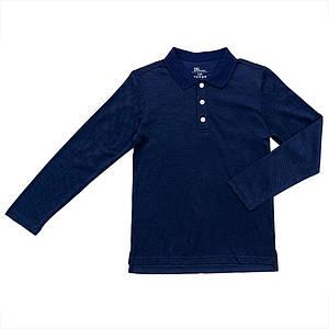 Поло для мальчиков Deloras 134  синее 981102