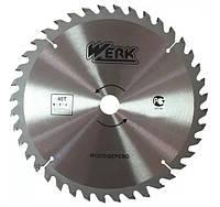 Пильный диск по дереву Werk 150*22.23*40Т