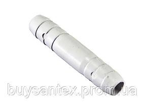 З'єднувач штуцер-штуцер 11 мм. (СС-01) пластик