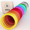 Набор PLA пластика 3D-Box XХXL для 3D-ручки: 25 цветов по 5 (10, 20) метров (1,75мм*125м, 250 м, 500м) 10