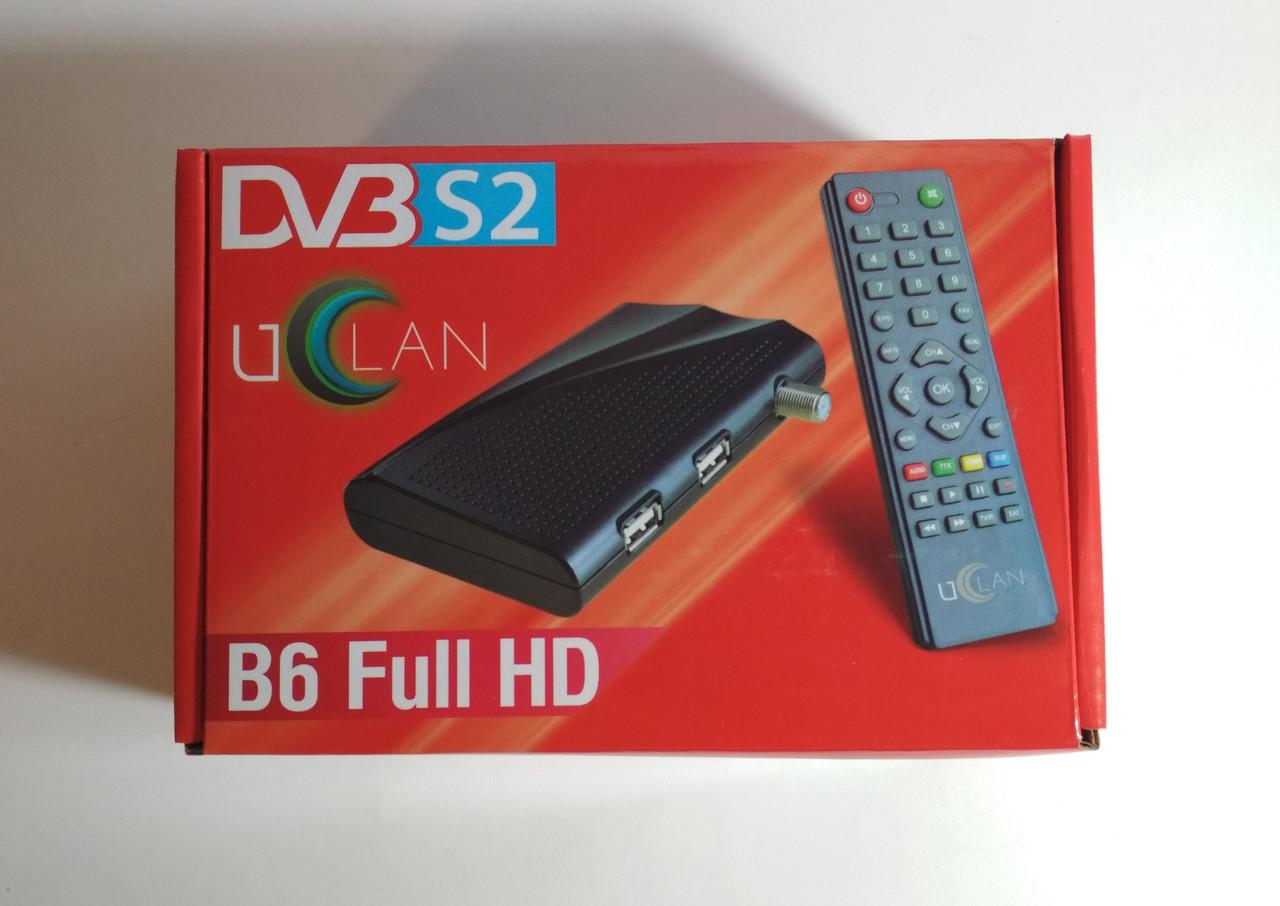 Спутниковый ресивер тюнер uClan B6 Full HD