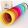 Пластик ABS ЛЮКС для 3D-ручки   Набор из 20 цветов   3D-Box