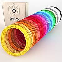 Пластик ABS ЛЮКС для 3D-ручки | Набор из 20 цветов | 3D-Box