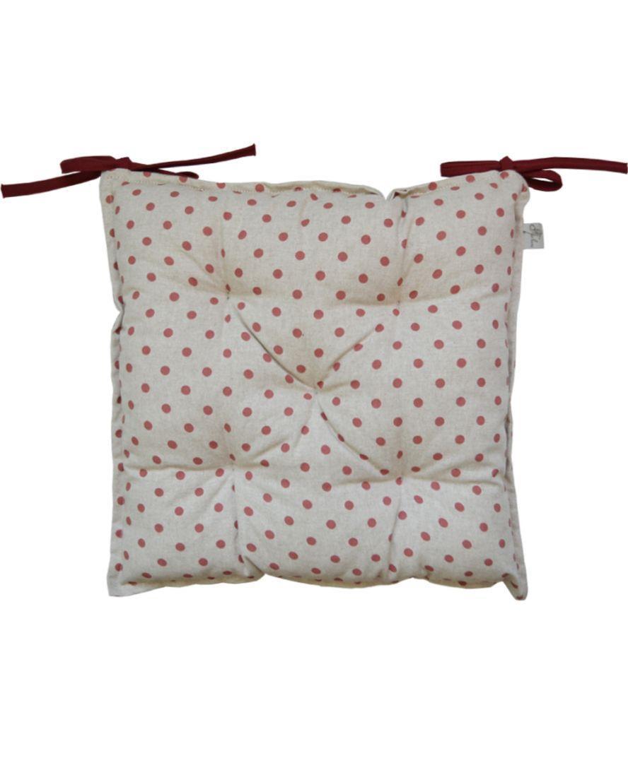 Подушка на стул Глория Горох