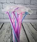 Гелевая ручка Цветок синяя, фото 2