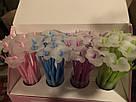 Гелевая ручка Цветок синяя, фото 6