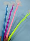 Гелевая ручка Цветок синяя, фото 5