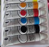"""Акриловые краски """"Acrylic Colour """" 12 цветов по 12 мл, фото 4"""