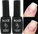 Kodi Rubber Top Gel + Kodi Rubber Base Gel 8 мл., фото 3