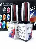 Акварельні фарби з ефектом розтікання 12мл, 12 відтінків,топ для акварельного малюнка на нігтях, фото 4