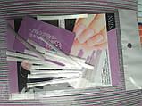 Скловолокно для нарощування нігтів 10 стрічок по 5.5 см, фото 5