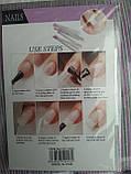 Стекловолокно для наращивания ногтей 10 лент по 5.5 см, фото 7