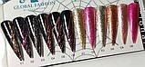 Гель гліттер-павутинка 2 в 1 Glitter Shiny Spider Easy Gel Global Fashion, 6 кольорів, 5 Гр, фото 9
