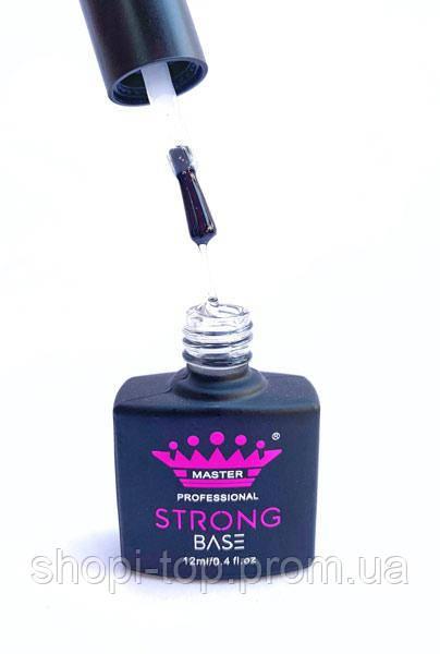 Master Professional База Strong для гель-лака каучук, 12 мл