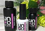 Топ для нігтів UNO 50 мл Super Shine Non-Cleansing Gel Top, фото 4