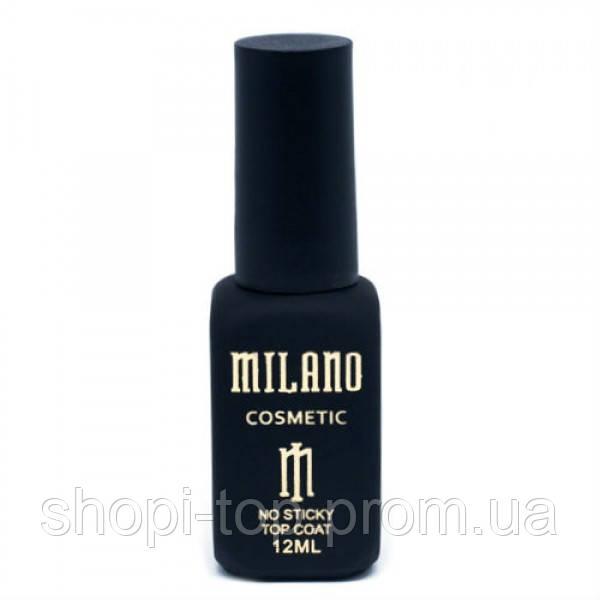 Топ для гель-лака Milano без липкого слоя 12 мл