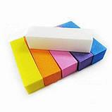 Бафик для ногтей Starlet Professional,баф для ногтей, 100 Grit,разные цвета, фото 2