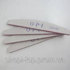 Пилка для нігтів OPI 100/180 човник