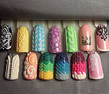 Акриловая пудра для дизайна ногтей 12 штук в наборе, фото 6