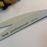 Пилка для ногтей Kodi «Half», серая, 100/180 грит, фото 2