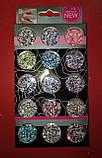 Набор конфети  15 в 1  для дизайна ногтей номер 2, фото 2